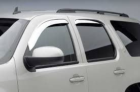 Window Visor Chrome WV-0003