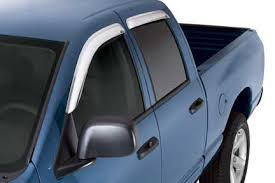 Window Visor Chrome WV-0004